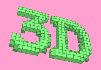 3D Blocks Text Effect Generator