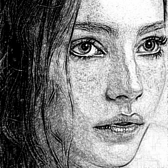 Use the Realistic Pencil Sketch Photo Effect right now.