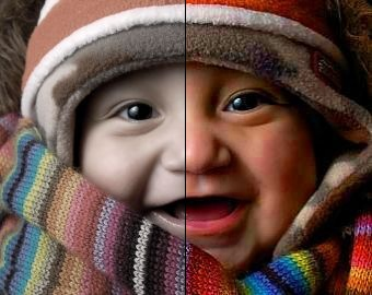 Online Photo Color Enhancement
