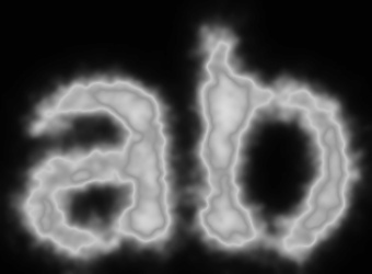 Smoke Text Effect 1