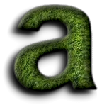 Top Grass Text Effect