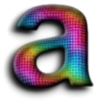 Top Rainbow Text Effect
