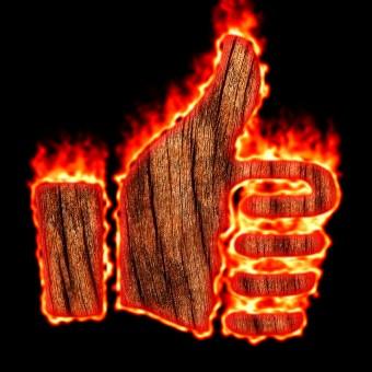 Burning Wood Logo Effect 13
