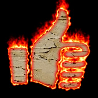 Burning Wood Logo Effect 17