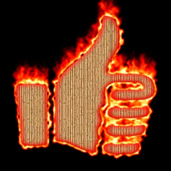 Burning Wood Logo Effect 22