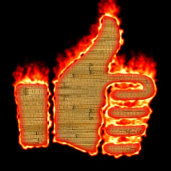 Burning Wood Logo Effect 24