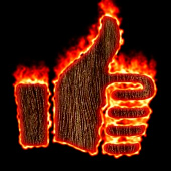Burning Wood Logo Effect 38