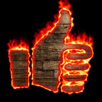 Burning Wood Logo Effect 51
