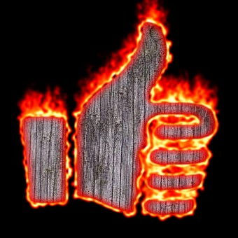 Burning Wood Logo Effect 59