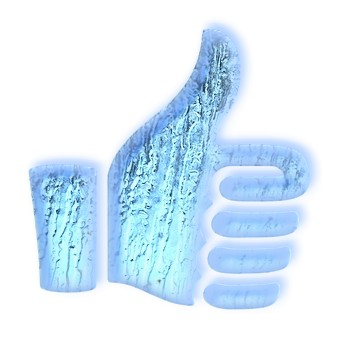 Realistic 3D Ice Logo Effect 5