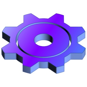 3D Science Logo Icon 2