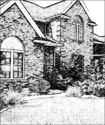 house_photo_to_pencil_drawing