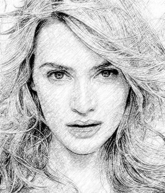 Original photo 3 realistic pencil sketch photo effect 3
