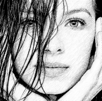 Realistic Pencil Sketch Photo Effect 6