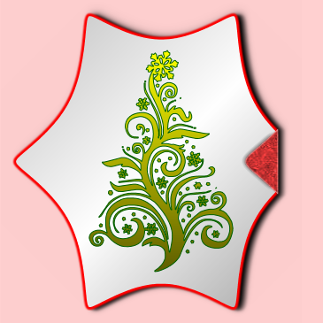 Christmas Sticker and Label Effect
