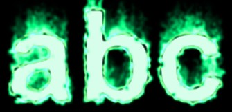 Fire Text Effect 11