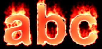 Fire Text Effect 14