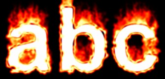 Fire Text Effect 13