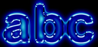 Glow Text Effect 2