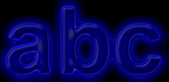 Glow Text Effect 1