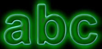Glow Text Effect 3