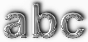 Chrome Text Effect 3