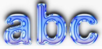 Glass Text Effect 5
