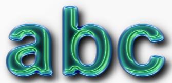 Glass Text Effect 16