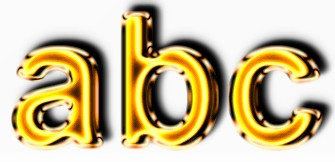 Golden Text Effect 9
