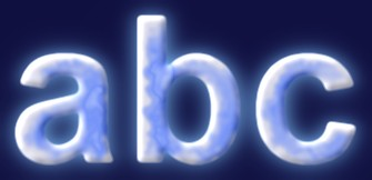 Ice Text Effect 1