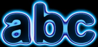 Blue Light and Glow Text Effect 10