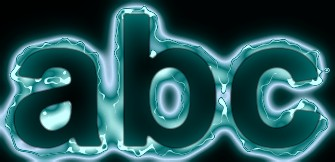 Green Light and Glow Text Effect 11