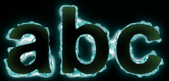 Green Light and Glow Text Effect 13