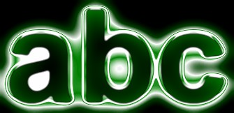 Green Light and Glow Text Effect 15