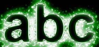Green Light and Glow Text Effect 4