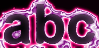 Pink Light and Glow Text Effect 10
