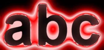 Red Light and Glow Text Effect 13