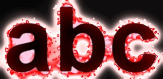 Red Light and Glow Text Effect 18