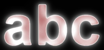 Red Light and Glow Text Effect 19