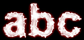 Red Light and Glow Text Effect 5