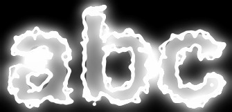 White Light and Glow Text Effect 12