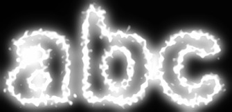 White Light and Glow Text Effect 8