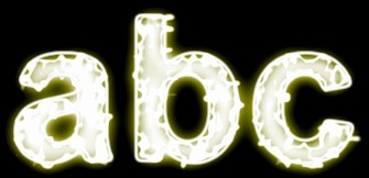 Yellow Light and Glow Text Effect 5