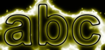 Yellow Light and Glow Text Effect 6