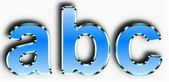 Blue Metallic Text Effect 9