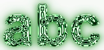 Green Metallic Text Effect 11
