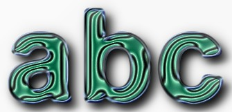 Green Metallic Text Effect 12