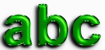 Green Metallic Text Effect 14