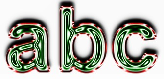 Green Metallic Text Effect 4