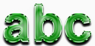 Green Metallic Text Effect 7